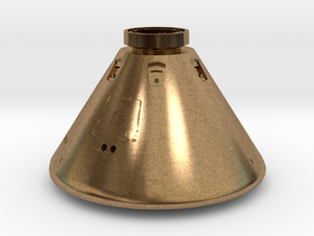 Orion Space Capsule in Natural Brass