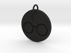 Harry Potter Keychain in Black Premium Versatile Plastic