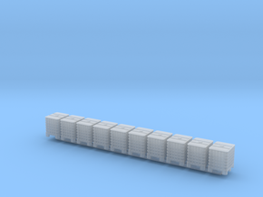 TT Scale IBC 10pc in Smooth Fine Detail Plastic