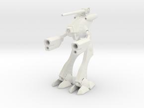 1/285 Space Attack Robot Suit in White Natural Versatile Plastic