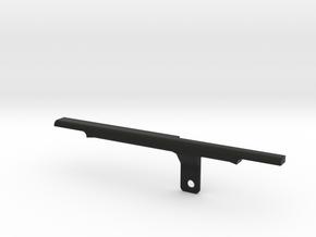 ThumbRail - Bridge - fits 70's and Geddy Lee Serie in Black Premium Versatile Plastic