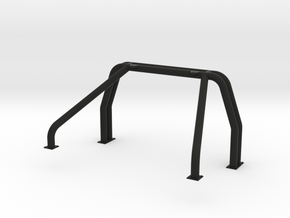 Double Roll Bar for RC4WD Blazer Pickup Conversion in Black Natural Versatile Plastic