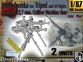 1/87 DSHK Dushka w-Tripod AA Sights Set001 in Smooth Fine Detail Plastic
