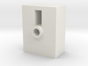 TR Faceplate Base (Downloadable) in White Natural Versatile Plastic