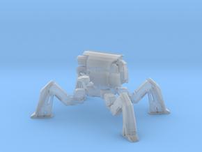 1/2000 War Robot Raijin (No Weapon) Walker Mode in Smooth Fine Detail Plastic
