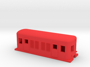 Metropolitan Electric Locomotive in Red Processed Versatile Plastic