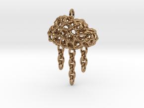 Rainy Pendant in Polished Brass (Interlocking Parts)