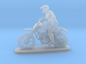 MX Bike Rider Stand 1:87 HO in Smooth Fine Detail Plastic