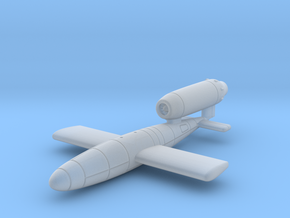 (1:285) V-1 flying bomb (Disposable Porsche Jet) in Smooth Fine Detail Plastic