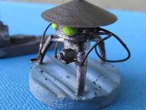 Martian tripod without tentacles in White Natural Versatile Plastic