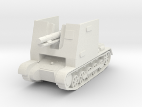 sturmpanzer I scale 1/87 in White Natural Versatile Plastic
