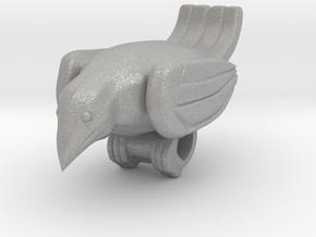 Bird Pendant  in Aluminum