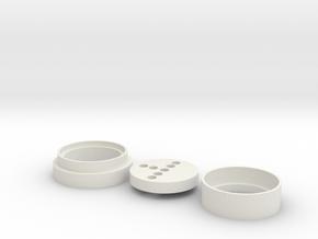 MK1 (KR Blade) Neopixel Adapter in White Natural Versatile Plastic