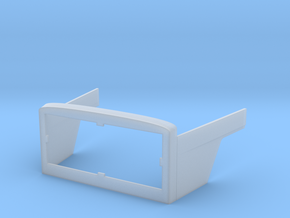 Magirus Deutz front section 1/24 in Smooth Fine Detail Plastic