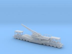 cannon de 240 1/144 railway artillery  in Smooth Fine Detail Plastic