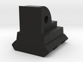 AUG Bottom Picatinny Rail (2-Slots) in Black Premium Versatile Plastic
