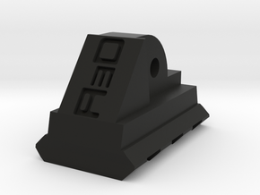 AUG Bottom Picatinny Rail (3 Slots) in Black Natural Versatile Plastic