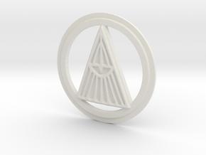 Radiance Rune in White Natural Versatile Plastic