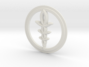 Corruption Rune in White Natural Versatile Plastic