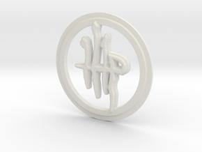 Milkweed Rune in White Natural Versatile Plastic