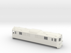 Swedish SJ electric locomotive type F - H0-scale in White Natural Versatile Plastic