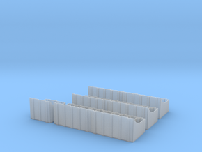 1-16 Luchs 2cm ammunition racks in Smoothest Fine Detail Plastic