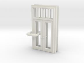 SP Door Type 1 x 2 scaled in White Natural Versatile Plastic