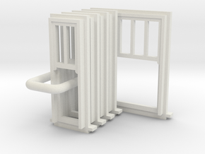 SP Window Type 4 and 5 in White Natural Versatile Plastic