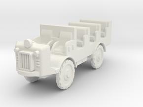Autocarretta 36 mod1 1:72 in White Natural Versatile Plastic