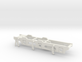 FR D1 & Cambrian SGC - P4 Chassis in White Natural Versatile Plastic