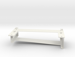 Wall & DIN rail Mount for Wink Hub 2 in White Natural Versatile Plastic