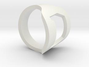 OPENER in White Natural Versatile Plastic: Medium