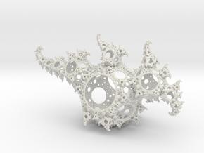 Kleinian Dragon in White Natural Versatile Plastic
