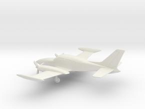 Cessna 310R in White Natural Versatile Plastic: 1:100