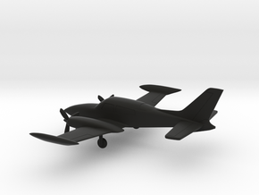 Cessna 310R in Black Strong & Flexible: 1:144