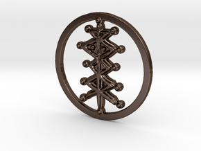 Heir in Polished Bronze Steel