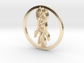 Oedon Writhe in 14k Gold Plated Brass