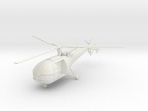BW03 Alouette III (1/100) in White Natural Versatile Plastic