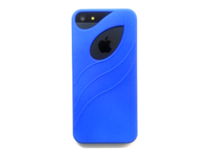 iphone 5 Case in Blue Processed Versatile Plastic