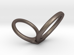 infinity scale 1.5 in Polished Bronzed Silver Steel