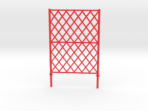 "Fence barrier for module ""LCpro"" in Red Processed Versatile Plastic"