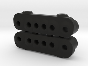 Kyosho Maxxum FF Rear Dampermount in Black Natural Versatile Plastic