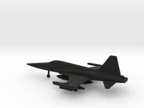 Northrop F-5E Tiger II in Black Natural Versatile Plastic: 1:200