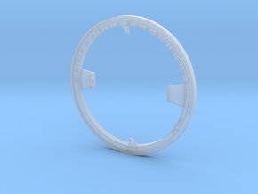 Universal Ring Dial 2 (Meridian Ring part) in Smooth Fine Detail Plastic