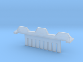 9 Tooth Electrophoresis Comb in Smooth Fine Detail Plastic