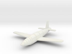 (1:144) Fieseler Fi 166 Hohenjager I in White Natural Versatile Plastic