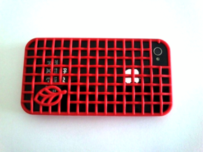 woven case in Red Processed Versatile Plastic