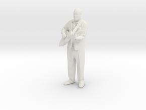 Printle C Homme 003 - 1/22.5 - wob in White Natural Versatile Plastic