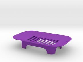 Soap Holder in Purple Processed Versatile Plastic
