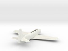 AD5-144scale-tarmac-1-airframe in White Natural Versatile Plastic